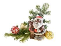 nytt santa för chokladclaus livstid fortfarande år Arkivfoton
