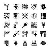nytt setår för symboler vektor illustrationer