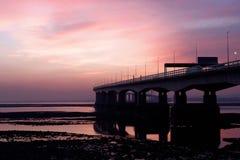 nytt severn för bro Royaltyfria Foton