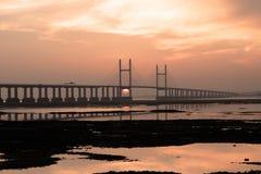 nytt severn för bro Royaltyfri Fotografi