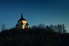 nytt slott Royaltyfri Fotografi
