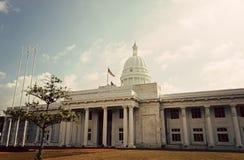 Nytt stadshus i Colombo Fotografering för Bildbyråer
