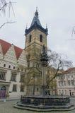 Nytt stadshus i Prague Royaltyfria Foton