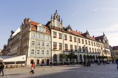 Nytt stadshus i Wroclaw, Polen Fotografering för Bildbyråer