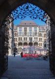 Nytt stadshus Munich Royaltyfria Bilder