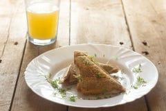 nytt sunt för frukost Fotografering för Bildbyråer