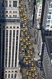 nytt taxa york Royaltyfri Bild