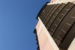 nytt tegelstenhus Arkivbilder