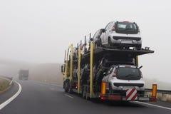 nytt trans. för bilar royaltyfria bilder
