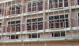 nytt under för byggnadskonstruktion Fotografering för Bildbyråer