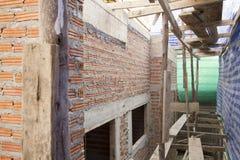 nytt under för konstruktionshus Arkivfoton