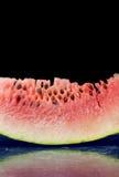 Nytt vattenmelonskivaslut upp Royaltyfria Foton