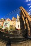 Nytt York-nytt York kasino och hotell i Vegas Royaltyfri Bild