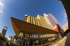 Nytt York-nytt York kasino och hotell i Vegas Arkivfoto