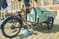 Nytto- cykelmodell för tunga påfyllningar royaltyfri foto