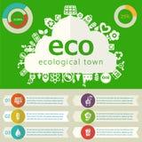 Nytto- infographics Royaltyfri Fotografi