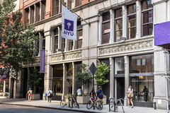 NYU fotografia stock