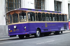 NYU Trolley Stock Images