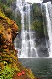 Nyuang瀑布 库存图片