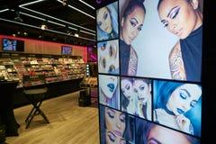 NYX Cosmetics Store photo libre de droits