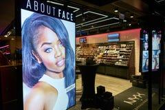 NYX Cosmetics Store photographie stock