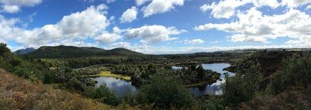NZ河全景 库存照片