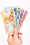 NZ现金 图库摄影
