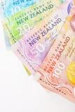 NZ现金 免版税库存图片