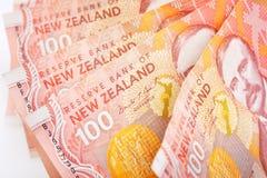 NZ现金 库存照片