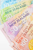 NZ现金 库存图片