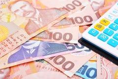 NZ Cash royalty free stock image