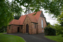NZ church. Royalty Free Stock Photography
