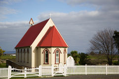 NZ church. Royalty Free Stock Photo