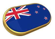 Nz flag Royalty Free Stock Image