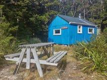 NZ-Gebirgshütten lizenzfreie stockbilder