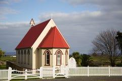 NZ-kyrka. royaltyfri foto