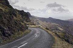 Nz road. In the mountains, scenic view Royalty Free Stock Photography