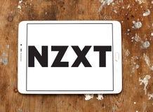 NZXT komputerowej firmy logo Zdjęcia Stock