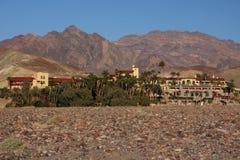 Oásis do deserto Fotos de Stock Royalty Free
