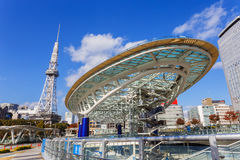 Oásis 21 em Nagoya Fotografia de Stock Royalty Free