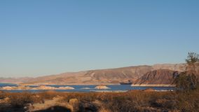 Oásis no deserto Imagem de Stock