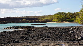 Oásis sul de Maui Fotos de Stock Royalty Free