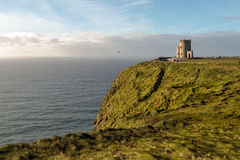 O'Brien's Tower at the Cliffs of Moher, Ireland Stock Images