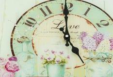O'clock do vintage foto de stock