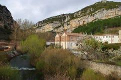 Oña, Burgos, España Imagen de archivo libre de regalías