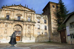 Oña, Burgos, España Foto de archivo libre de regalías