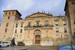 Oña, Burgos, Espagne Photographie stock libre de droits