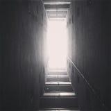 Oändlig korridor arkivfoton