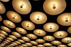 oändliga lampor Royaltyfria Bilder