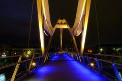 Oändlighetsbro på Stockton-på-utslagsplatser arkivfoto